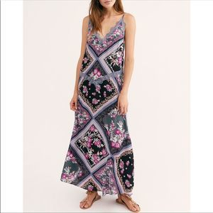 Free People Stevie Boho Lace Slip Dress NWT